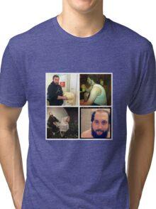 Many faces Tri-blend T-Shirt