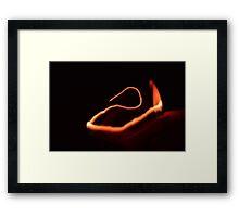 Lighter Framed Print