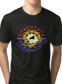 Mandala Sunset Tri-blend T-Shirt