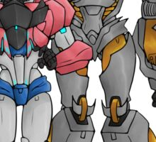 Orion Pax & Megatronus Sticker
