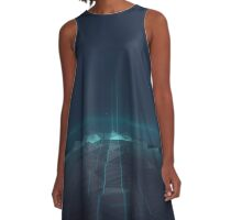 Exported Landscape A-Line Dress