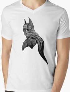 It's Not Who I Am Underneath... (Grayscale) Mens V-Neck T-Shirt