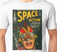 Space Action - Classic Comic Cover Unisex T-Shirt