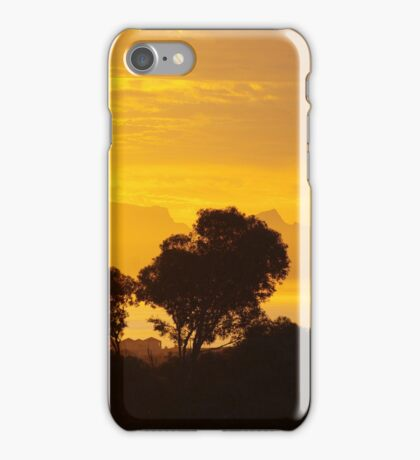 Last Sunset before Elections iPhone Case/Skin