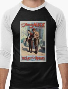 Performing Arts Posters The singing comedian Andrew Mack in the The last of the Rohans by Ramsay Morris 1112 Men's Baseball ¾ T-Shirt