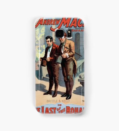 Performing Arts Posters The singing comedian Andrew Mack in the The last of the Rohans by Ramsay Morris 1112 Samsung Galaxy Case/Skin