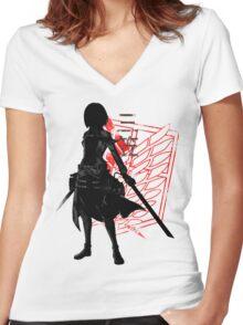 Mikasa Women's Fitted V-Neck T-Shirt