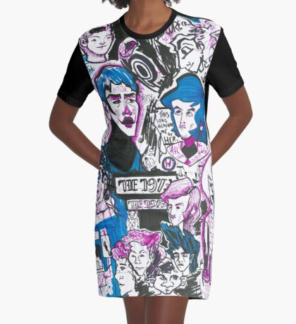 My Friend Started WWII Graphic T-Shirt Dress