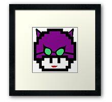 CatwomanMushroom Framed Print