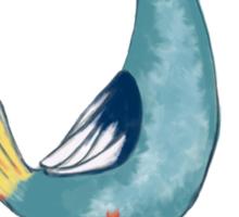 Cocky Bird Sticker