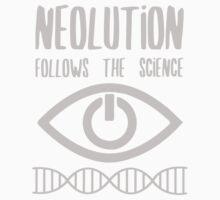 NEOLUTION follows the science Baby Tee