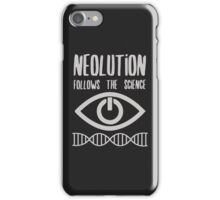 NEOLUTION follows the science iPhone Case/Skin