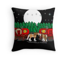 Gypsy Campers Throw Pillow