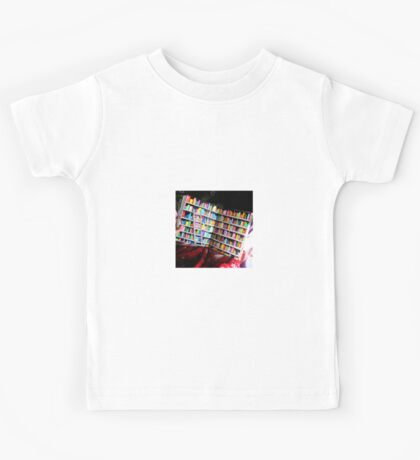 Unlimited Books Library Design Kids Tee
