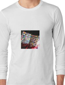 Unlimited Books Library Design Long Sleeve T-Shirt