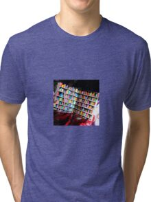 Unlimited Books Library Design Tri-blend T-Shirt