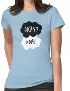No, it is NOT OKAY Womens Fitted T-Shirt
