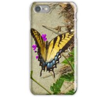 Female Eastern Tiger Swallowtail  iPhone Case/Skin