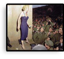 Marilyn Monroe, 1954 Canvas Print