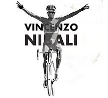 Vincenzo B&W Photographic Print