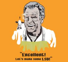 "Walter Bishop - ""Excellent! Let's make some LSD!"""" by godgeeki"