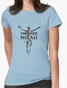 Vincenzo B&W Womens Fitted T-Shirt