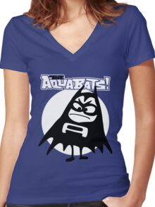 The Aquabats Super Rad Women's Fitted V-Neck T-Shirt