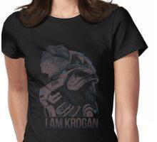I AM KROGAN Womens Fitted T-Shirt