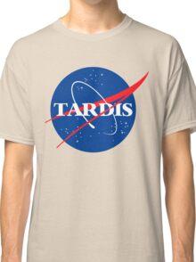 Tardis Nasa logo Doctor Who Classic T-Shirt