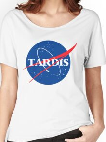 Tardis Nasa logo Doctor Who Women's Relaxed Fit T-Shirt