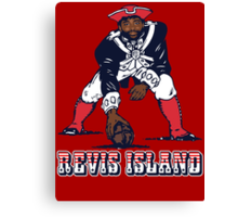 Darrelle Revis - Revis Island New England Patriots Canvas Print