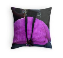 Tied Tails Throw Pillow