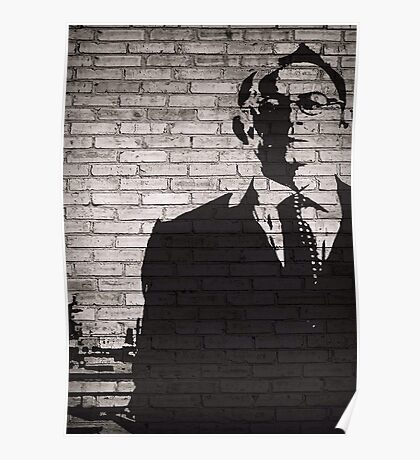 Person of Interest - Mr. Finch Graffiti style Poster