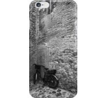 Bicycle in an Alley iPhone Case/Skin