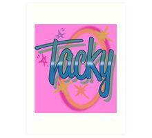 Weird Al Yankovic - TACKY Art Print