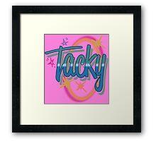 Weird Al Yankovic - TACKY Framed Print