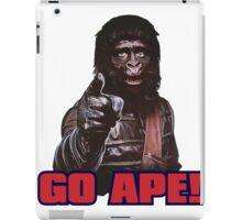 Planet of apes - GO APE iPad Case/Skin