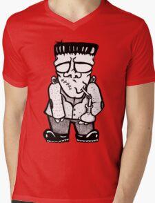 Frank's Monster Mens V-Neck T-Shirt