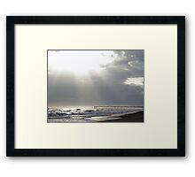 Light Moves on Water Framed Print