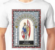 ST MAURICE under STAINED GLASS Unisex T-Shirt