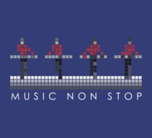 PIXEL8 | Music Non Stop | Red by 8eye