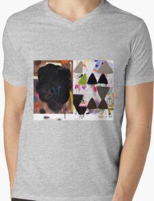 Abstract talk 008 Mens V-Neck T-Shirt