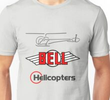 Retro Bell 47 Helicopter Unisex T-Shirt