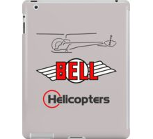 Retro Bell 47 Helicopter iPad Case/Skin