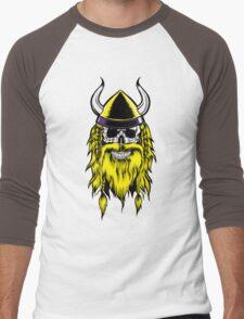 VIKING SKULL Men's Baseball ¾ T-Shirt