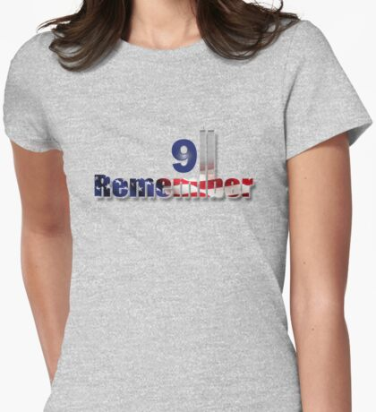9/11 Womens Fitted T-Shirt