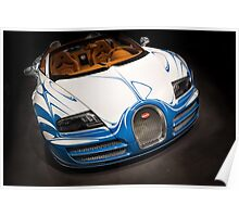 Bugatti Veyron L'Or Blanc in the Spotlight  Poster