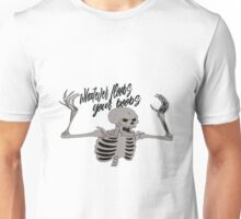 Whatever Floobs Your Boobs Skelly Unisex T-Shirt