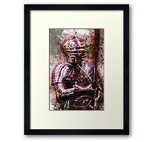 The Mystical Knight Framed Print