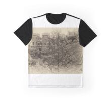 Windsor Castle - Sepia Graphic T-Shirt
